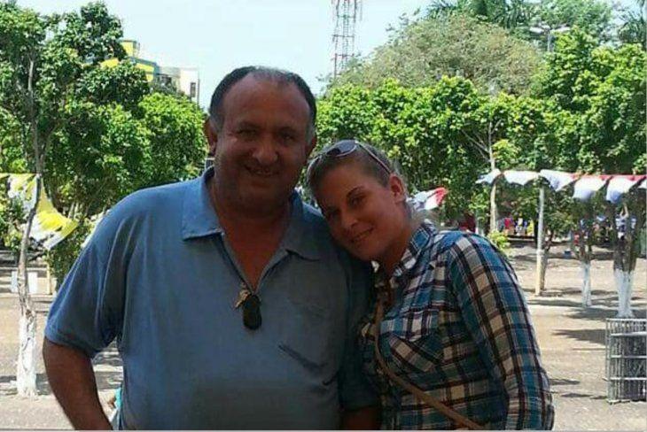 Amado (55) y Blanca (28) cuando aún había amor en la pareja y no importaba la edad.