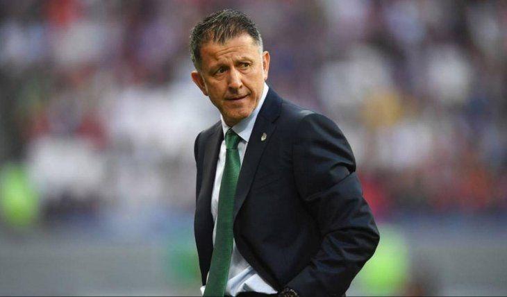 Cruzado. Osorio expresó su deseo de que Colombia elija a un DT de nivel. Mientras