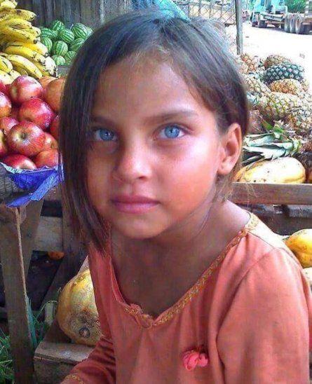 GUAPA. Licha trabajaba en el mercado de Concepción vendiendo verduras con su abuela.