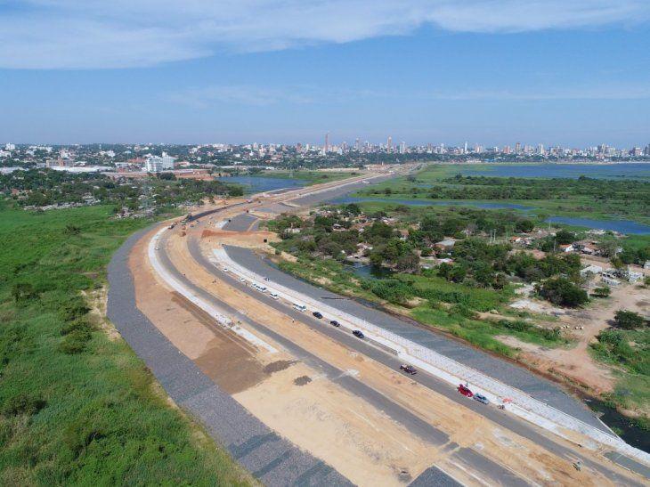 La Costanera Norte ya fue habilitada y la policía dice que la zona está cubierta por efectivos.