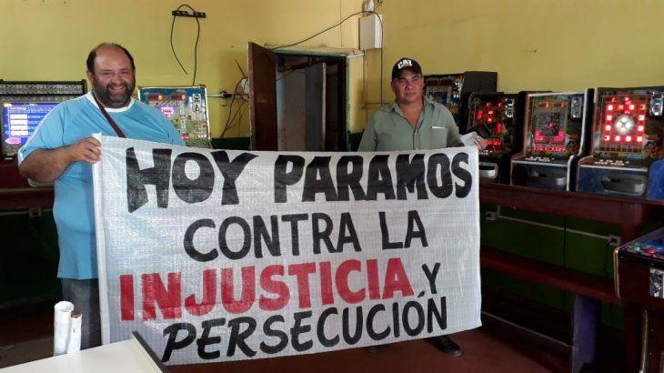 Quinieleros de Caaguazú van a huelga por lío con maquinitas