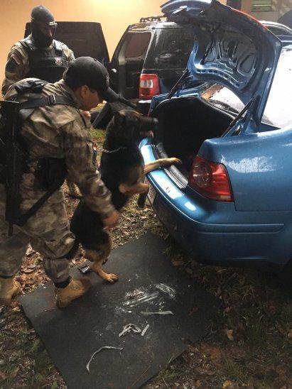 Los explosivos estaban guardados en la guantera