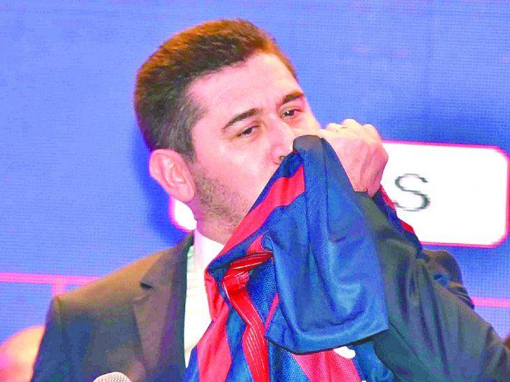 El candidato al sillón azulgrana