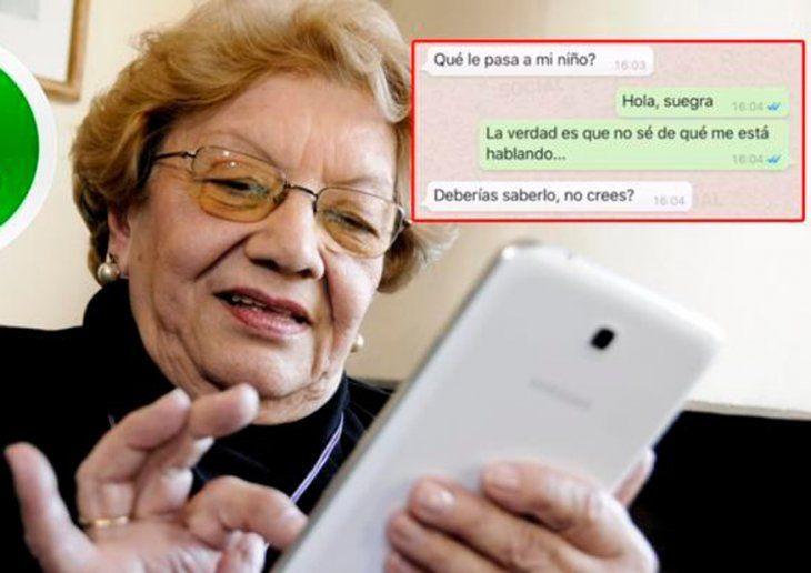 Tecnología. Las suegras se enteran todo por WhatsApp
