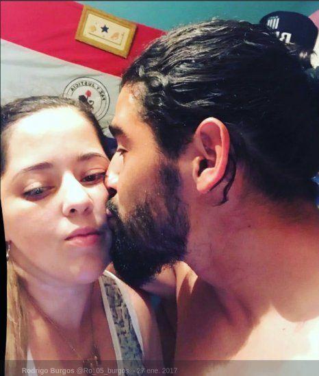 Se acabó la relación. Rodrigo Burgos y Lucía Aguilera.