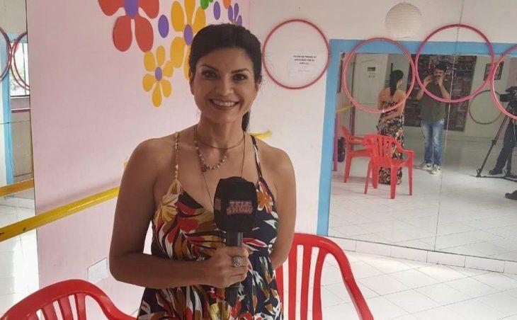 Lorena Azucas mostró su lado ñaña