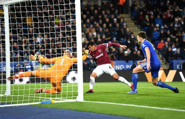 Estreno. Balbuena marcó su primer gol con el West Ham