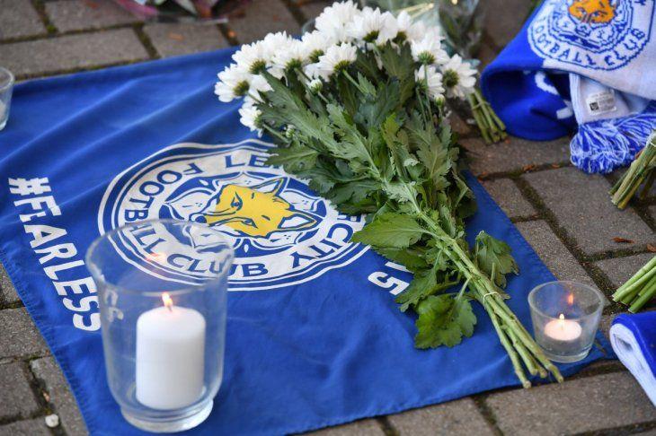 Dolor. La ciudad de Leicester está de luto por la muerte del hombre que puso a soñar a todo el mundo del fútbol.