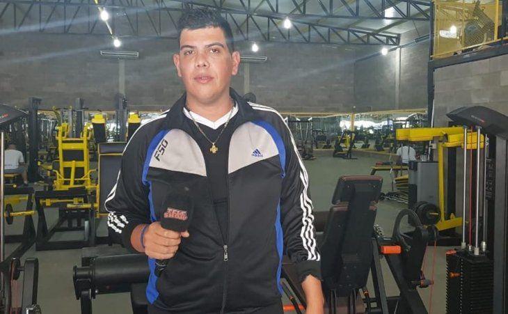 Rubén Paris dice que fue imputado por unas fotos en Facebook con la desaparecida.