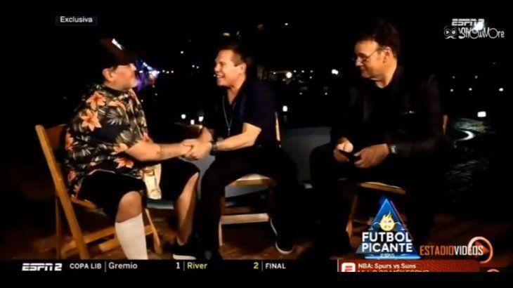 Diego Maradona y Julio César Chávez hablaron sin problemas de sus respectivas adicciones a las drogas y cómo les afectó.
