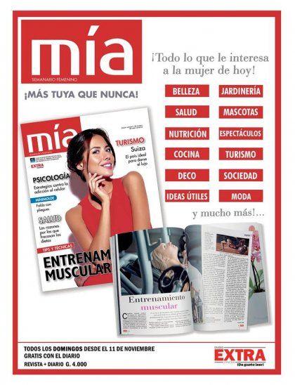 CHICAS: ¡Se viene la Revista Mía!