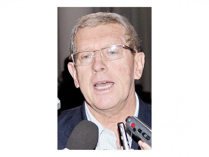 Luis Aníbal Schupp dijo que hay mucha irritación en Puentesiño.