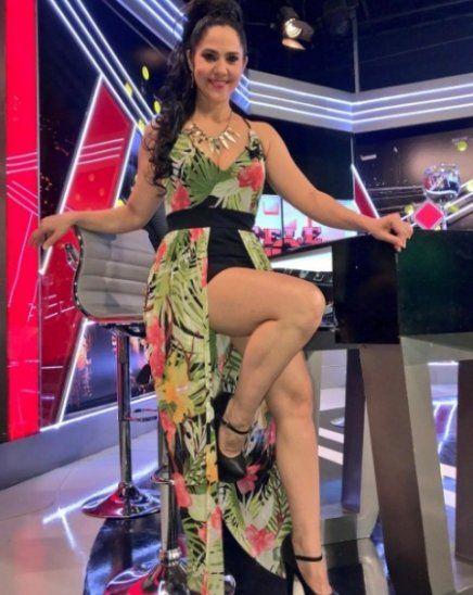 La bailarina y presentadora de TV mencionó que todo lo que ella decía eran puros disparates que a ella misma le divertía.