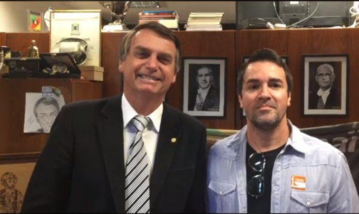 VIRAL. El video del doctor con el presidente de Brasil causó furor.