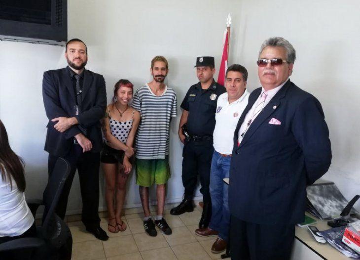 Fueron detenidos en octubre y de inmediato se había pedido la expulsión de ambos extranjeros