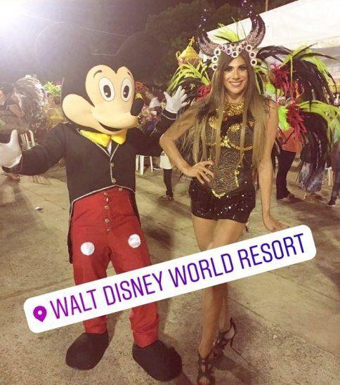 Walter Evers en Disney.