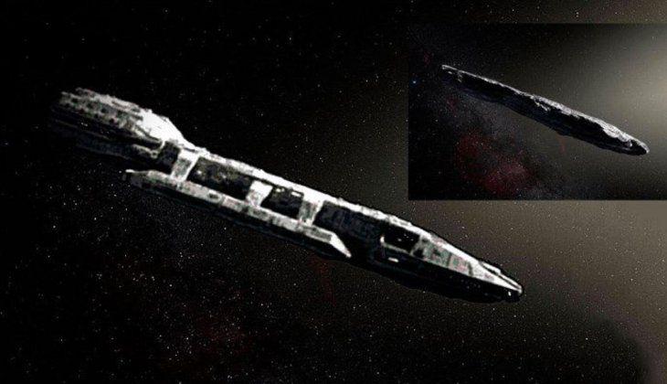 Algunos medios internacionales hicieron una especie de recreación del objeto espacial