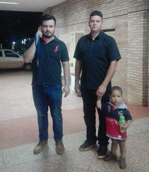 Hay un número de teléfono para colaborar con el pequeño accidentado (Foto: Diario Global Paraguay-Facebook).