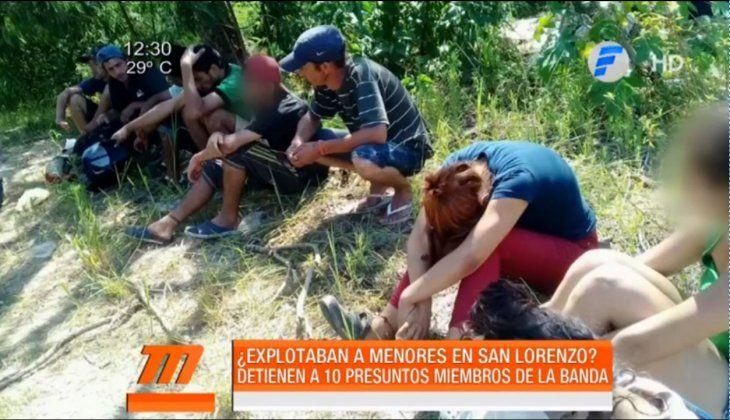 Obligaban a niños a pedir dinero en Fernando de la Mora