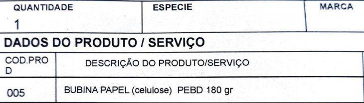 Este error al escribir en portugués posibilitó la incautación del enorme cargamento de cigarrillos de contrabando made in Paraguay.