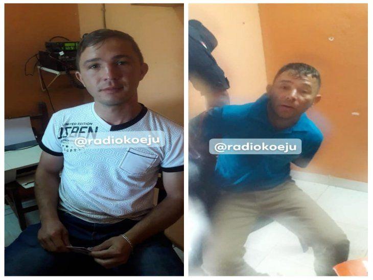 Presos: Nolberto y Julián Rolón golpearon