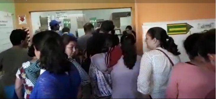 Pacientes abarrotados en Hospital Regional de Concepción