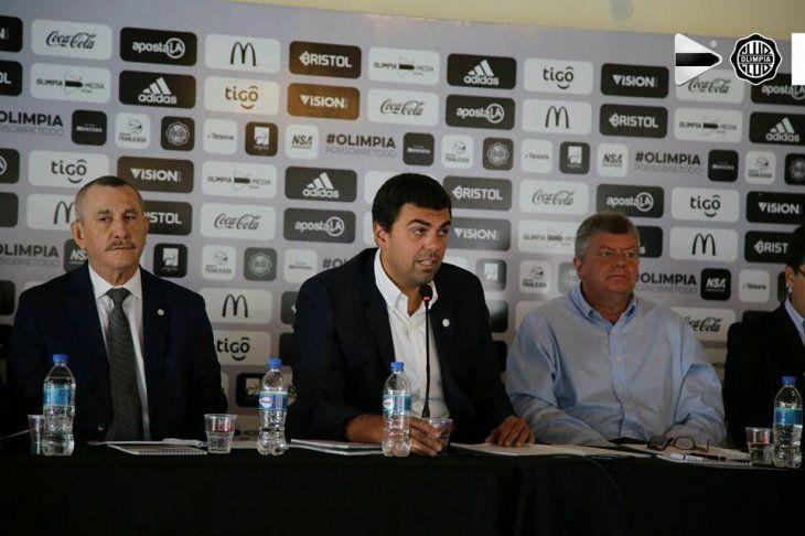 Pedro Ballota (izq.) junto a Marco Trovato