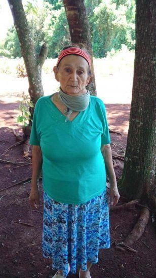 Doña Sixta está enferma