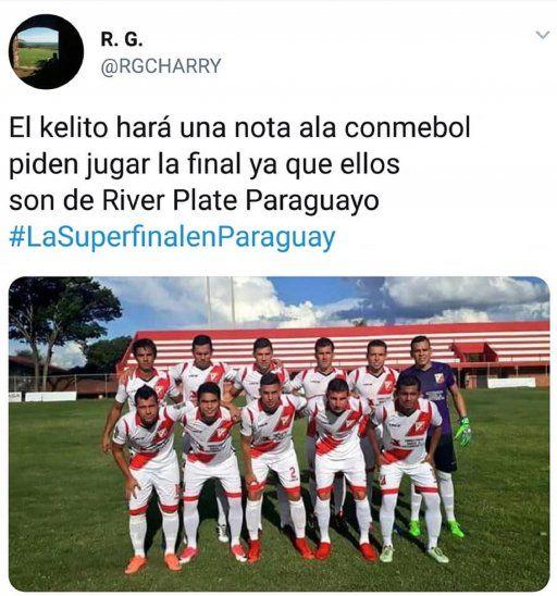 ¿Final de la Libertadores en Paraguay?: Estallaron los memes