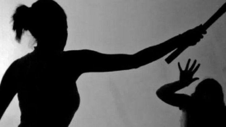 La joven quedó detenida por agresión. Foto ilustrativa.