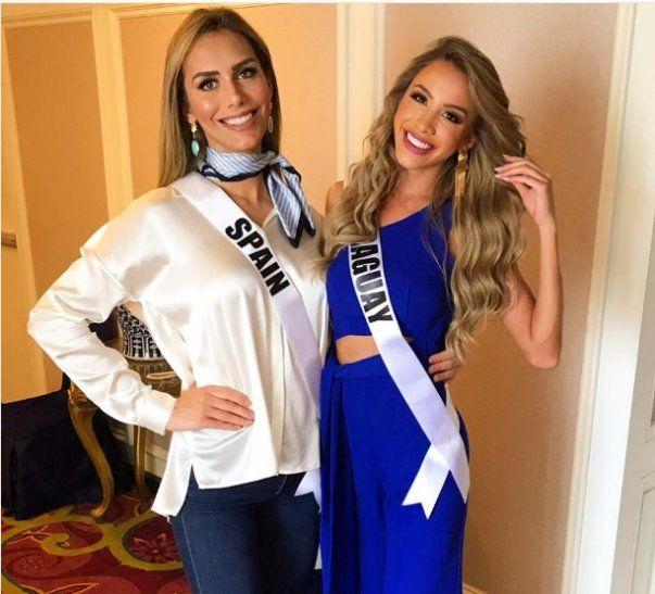 CONOCIÓ A LA FAMOSA TRANSBelén Alderete compartió una foto con la Miss España para callar las críticas.
