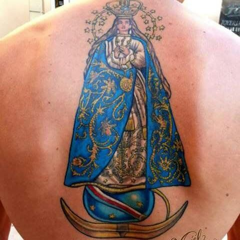 Aldo y su enorme fe en la Virgen de Caacupé