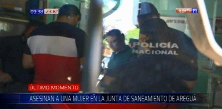 El hombre está detenido en la Comisaría 18va de Aregua.