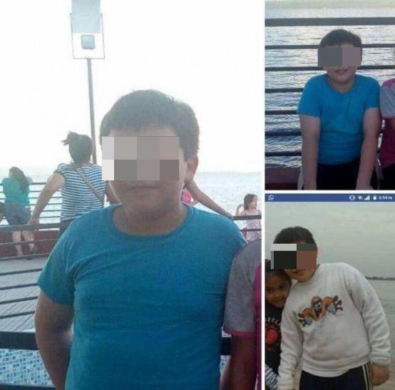El pequeño de 12 años estaba desaparecido desde ayer. Fue solito a Caacupé a escondidas.