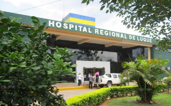 El joven apuñalado está internado en el Hospital Regional de Luque (Foto ilustrativa: Ministerio de Salud).