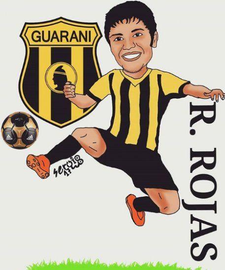 El caricaturista del más Cacique de la Copa