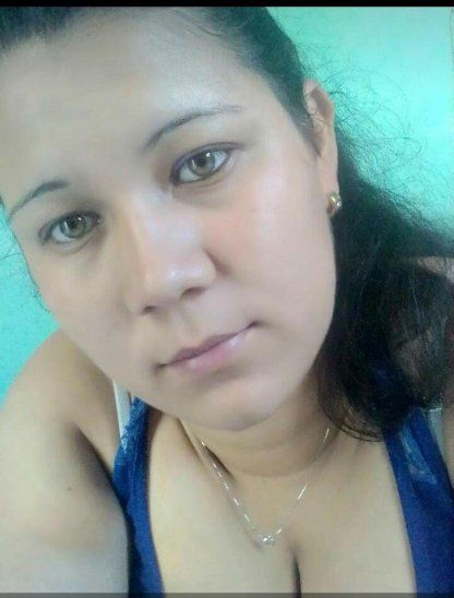 Gabriela Vázquez recibió un tiro en la cabeza mientras estaba sentada en un banquito.