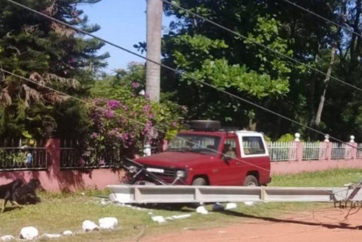 Carlos Raúl Ayala sacó la camioneta de su patrón sin permiso.