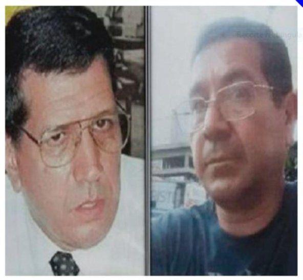 El juez Pedro Herrera y el demandante Juan Ríos. Ambos tendrían vínculos: se aguarda el ADN.