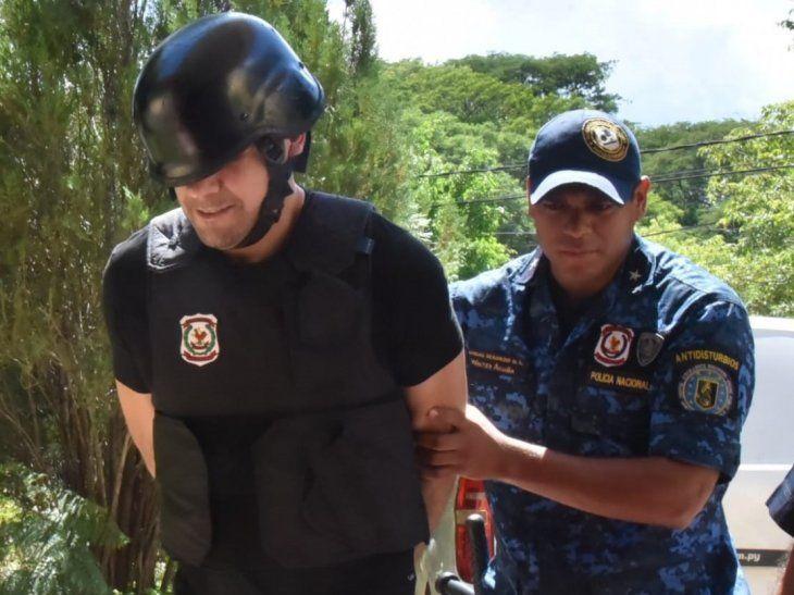 Reinaldo Cucho Cabaña fue llevado ayer a Tacumbú tras ser amenazado de muerte.