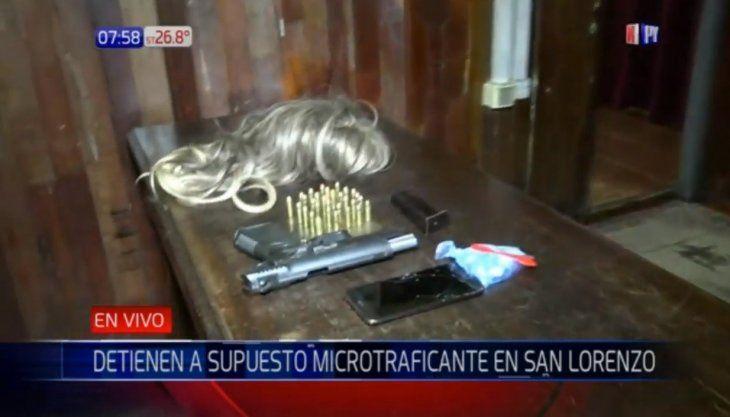 El supuesto microtraficante quedó detenido en la comisaría.