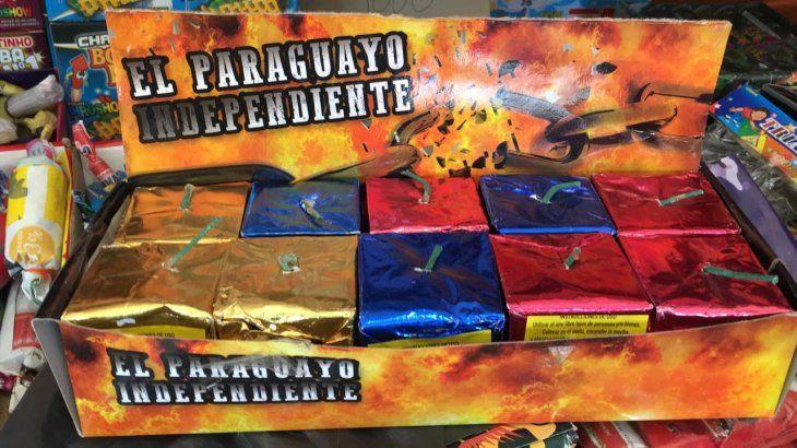 La bomba más vendida es a la que Ña Prince bautizó como Payo Cubas.