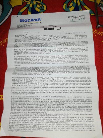 Contrato. Denuncia al vendedor por falsa publicidad.