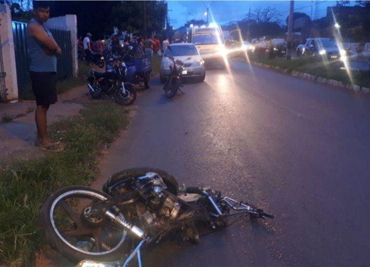 FATAL. El accidente cobró una joven vida.