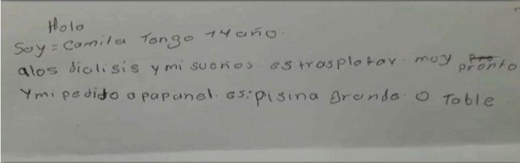Pequeños pacientes de Clínicas piden a los Reyes salud y donantes