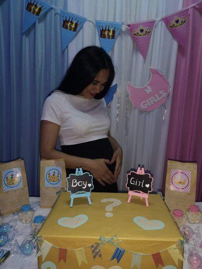La fiesta para saber si será nena o nene