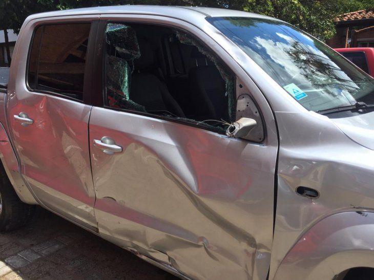 El conductor de la camioneta cruzó en rojo