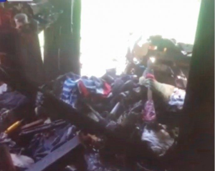 TRISTE VENGANZA. El adicto prendió fuego a la casa de su papá