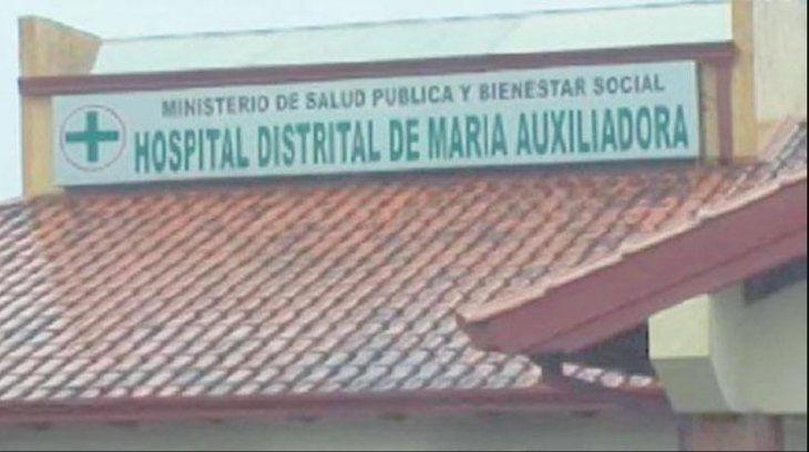 El joven fue auxiliado hasta el hospital distrital de María Auxiliadora.
