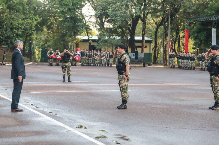 Marito manejó tanque militar